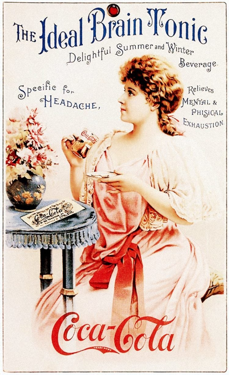 Coca Cola - The ideal brain tonic 1890s