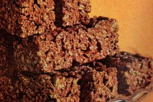 Cocoa peanut logs with Cocoa Krispies (1968)