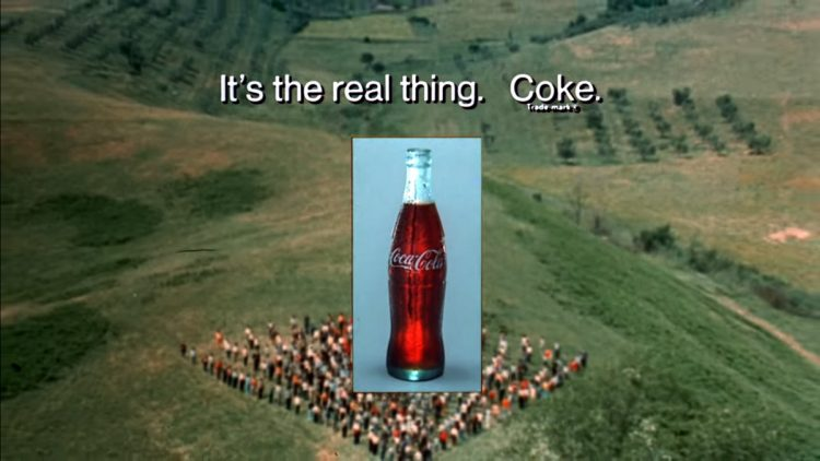 Coke - It's the real thing vintage commercial