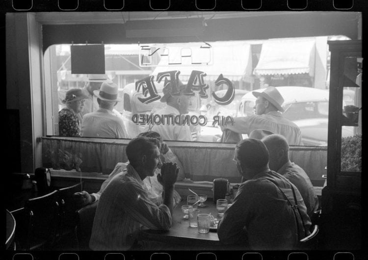 Cold drinks on Fourth of July. Vale, Oregon 1941