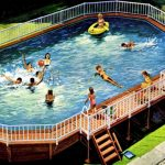 Coleco above-ground swimming pool (1970)