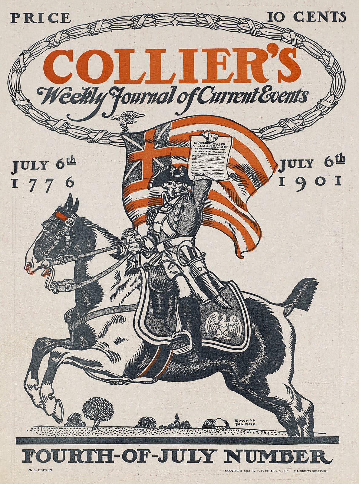 Collier's weekly journal of current events, Fourth-of-July number 1901