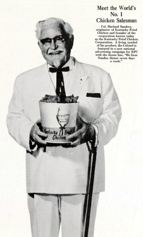Colonel Sanders - KFC 1966