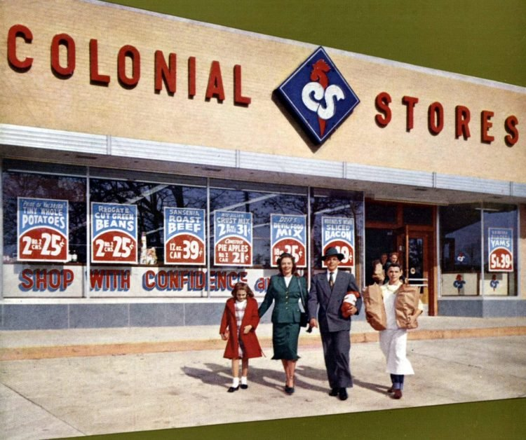 Colonial Stores - 1950