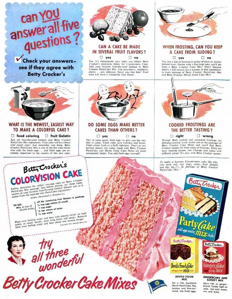ColorVision cake recipe 1950s (1)