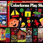 Colorforms, the vintage vinyl stick-on playsets that let kids stage scenes, create comics dress dolls
