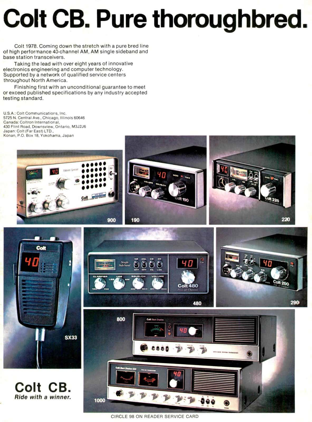 Colt CB 1978