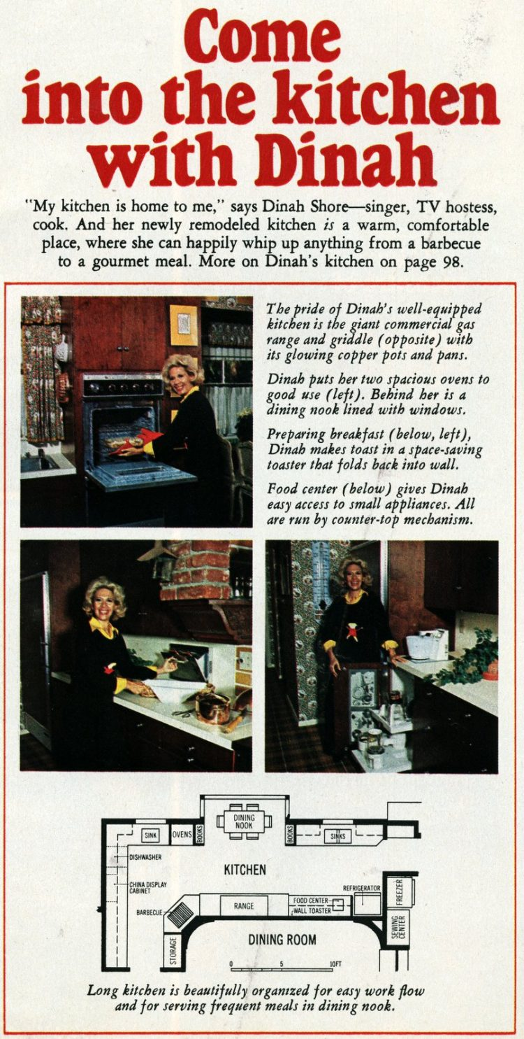 Come into the kitchen with Dinah Shore - A celebrity home from 1967 (3)