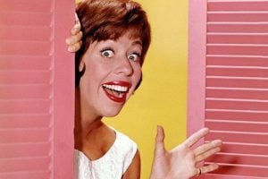 Comedian and actress Carol Burnett