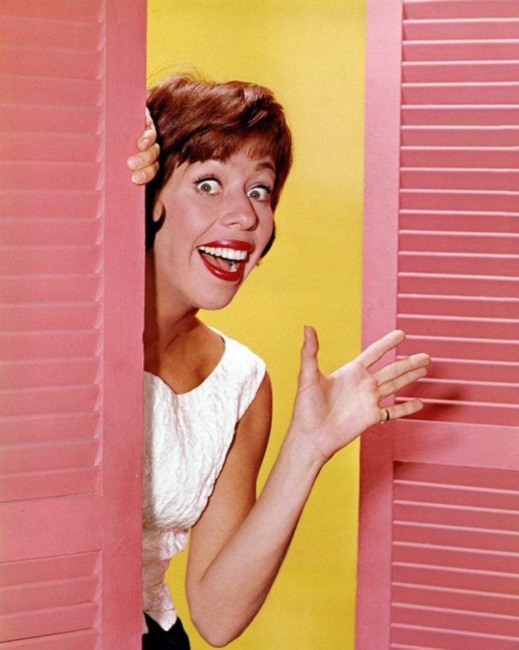 Comedian and actress Carol Burnett