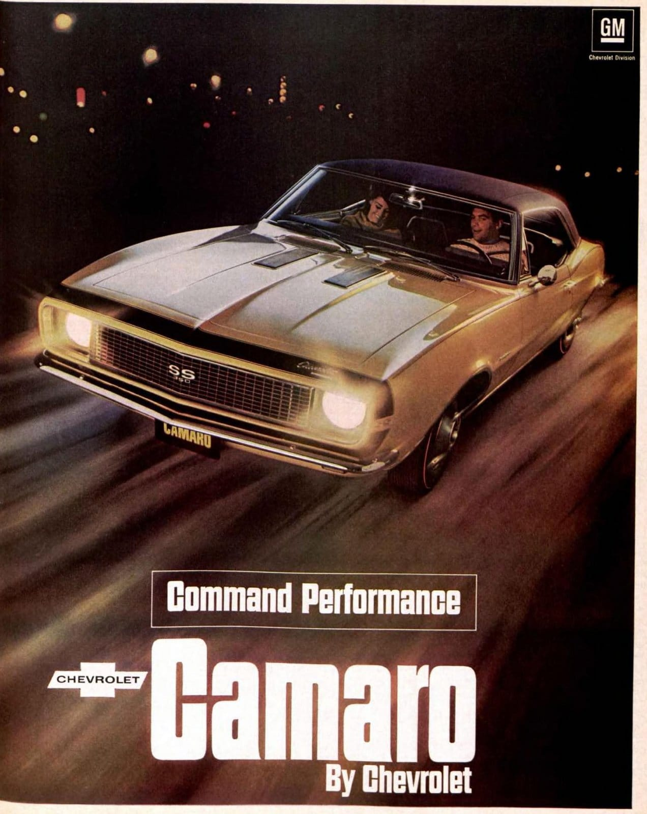Command Performance Camaro by Chevrolet - 1967 (October 1966)