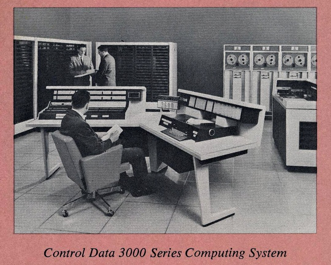 Computer room from the 1960s