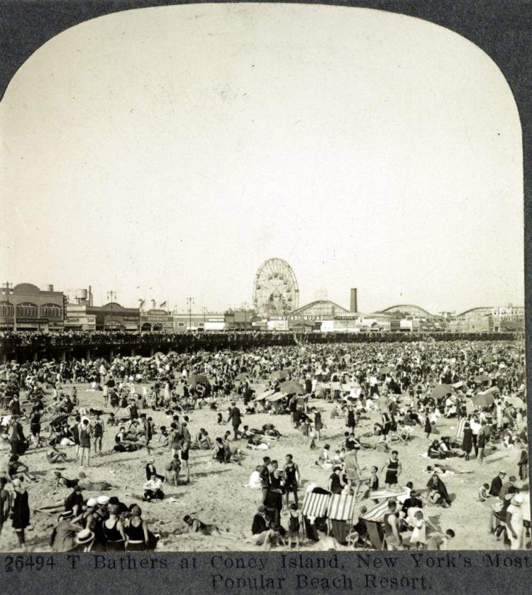 Coney Island, New York's most popular beach resort c1900