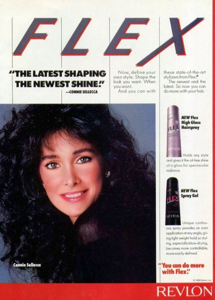 Connie Sellecca You can do more with Flex (1989)