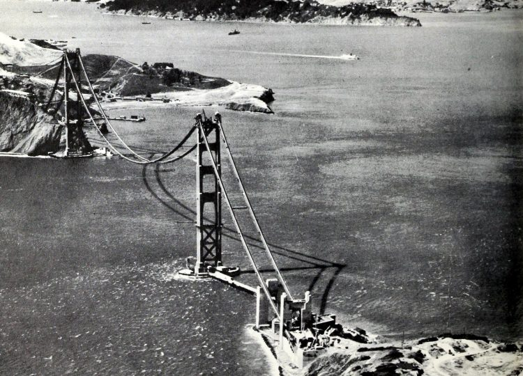 Construction of the Golden Gate Bridge - 1930s (9)