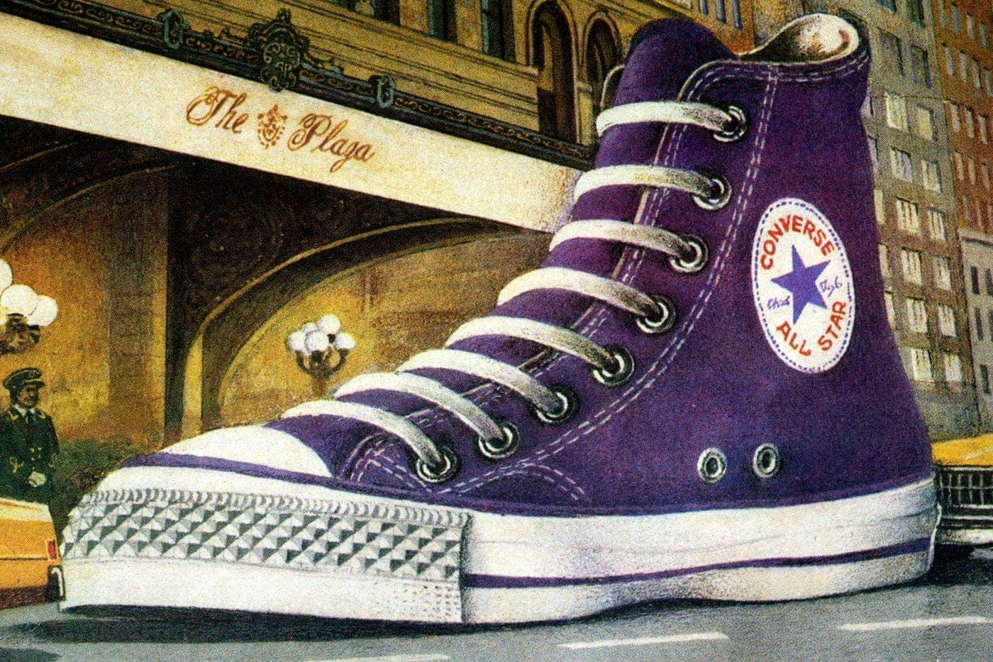 Converse vintage shoes: The old-school