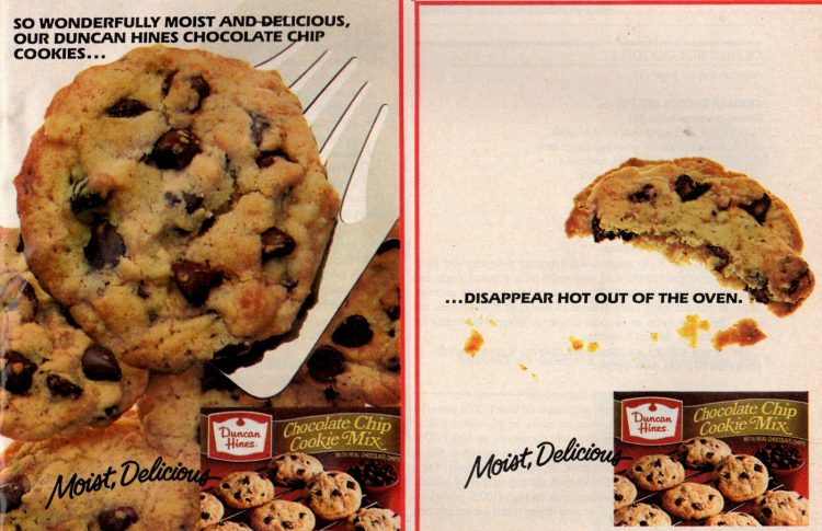 Cookie mix from 1986