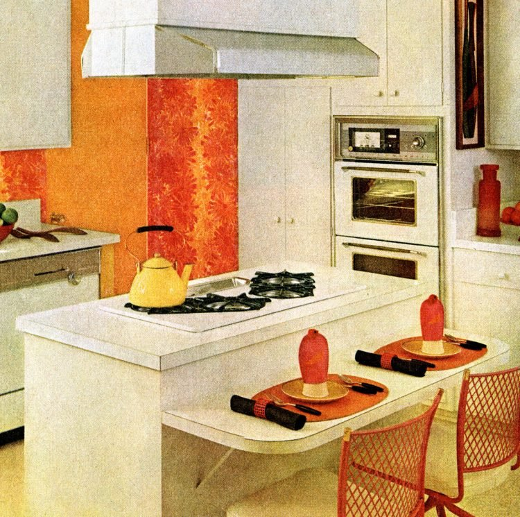 Cooking on a sunny island 1965