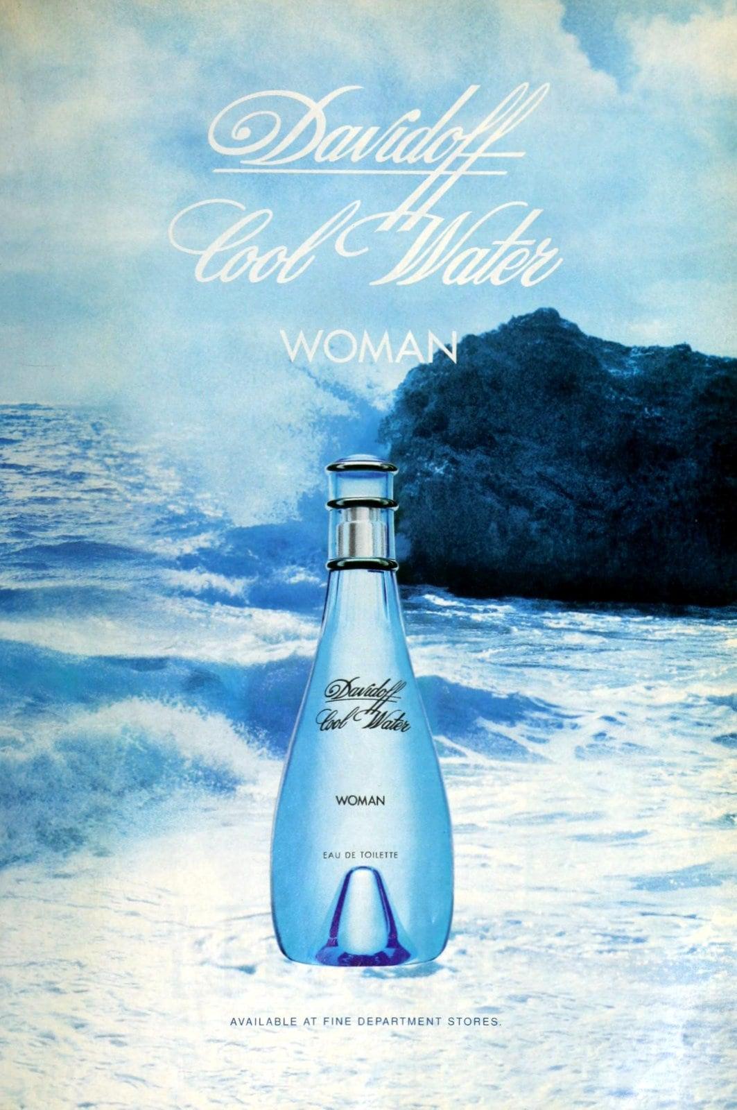 Cool Water woman from Davidoff (1997) at ClickAmericana com