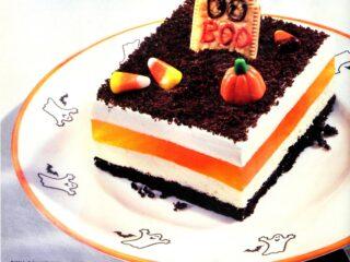 Cool Whip Oreo graveyard treat - Halloween dessert from 1994 (1)