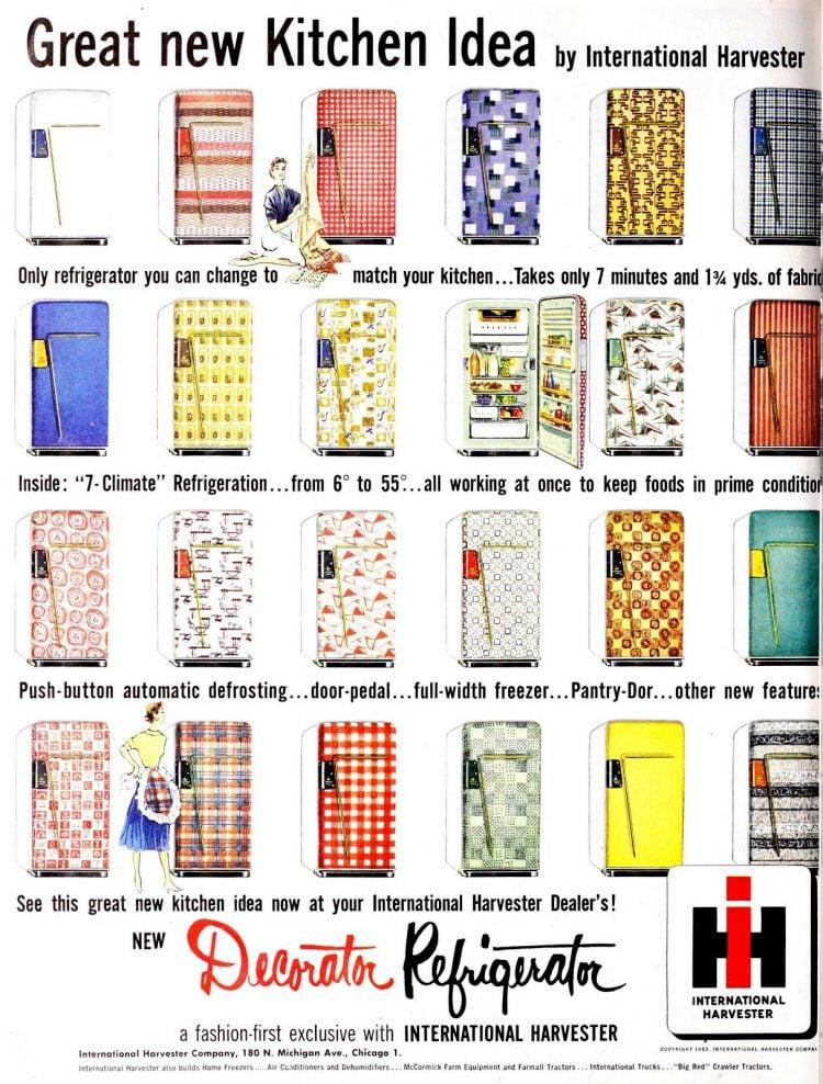 Refrigerator designs kitchen
