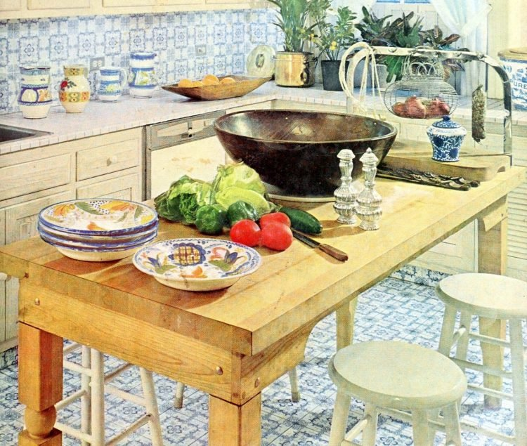Cool vintage kitchens from the 50s and 60s (2)