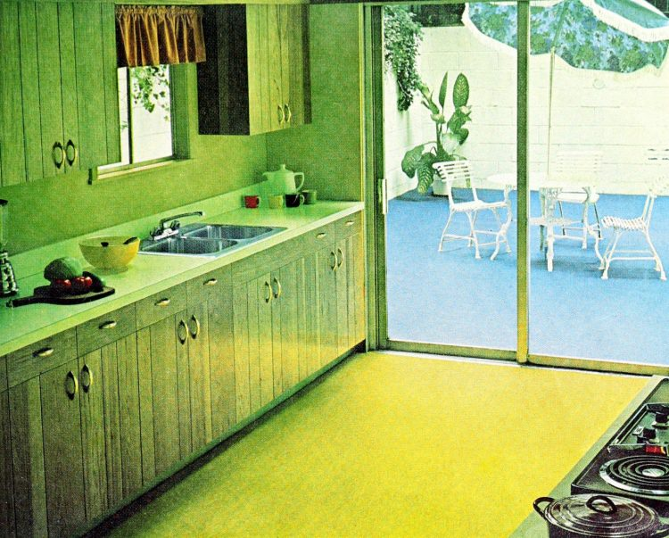 Cool vintage kitchens from the 50s and 60s (3)