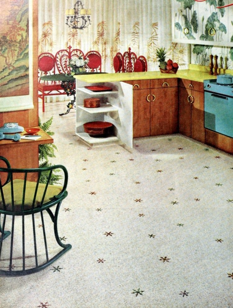 Cool vintage kitchens from the 50s and 60s (4)