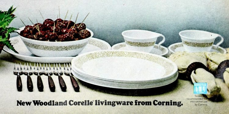Corelle - Corningware dishes - Vintage from 1980s (3)