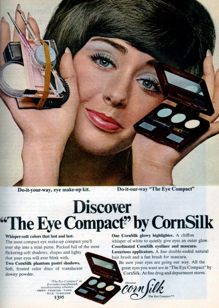 CornSilk blue eyeshadow 1969