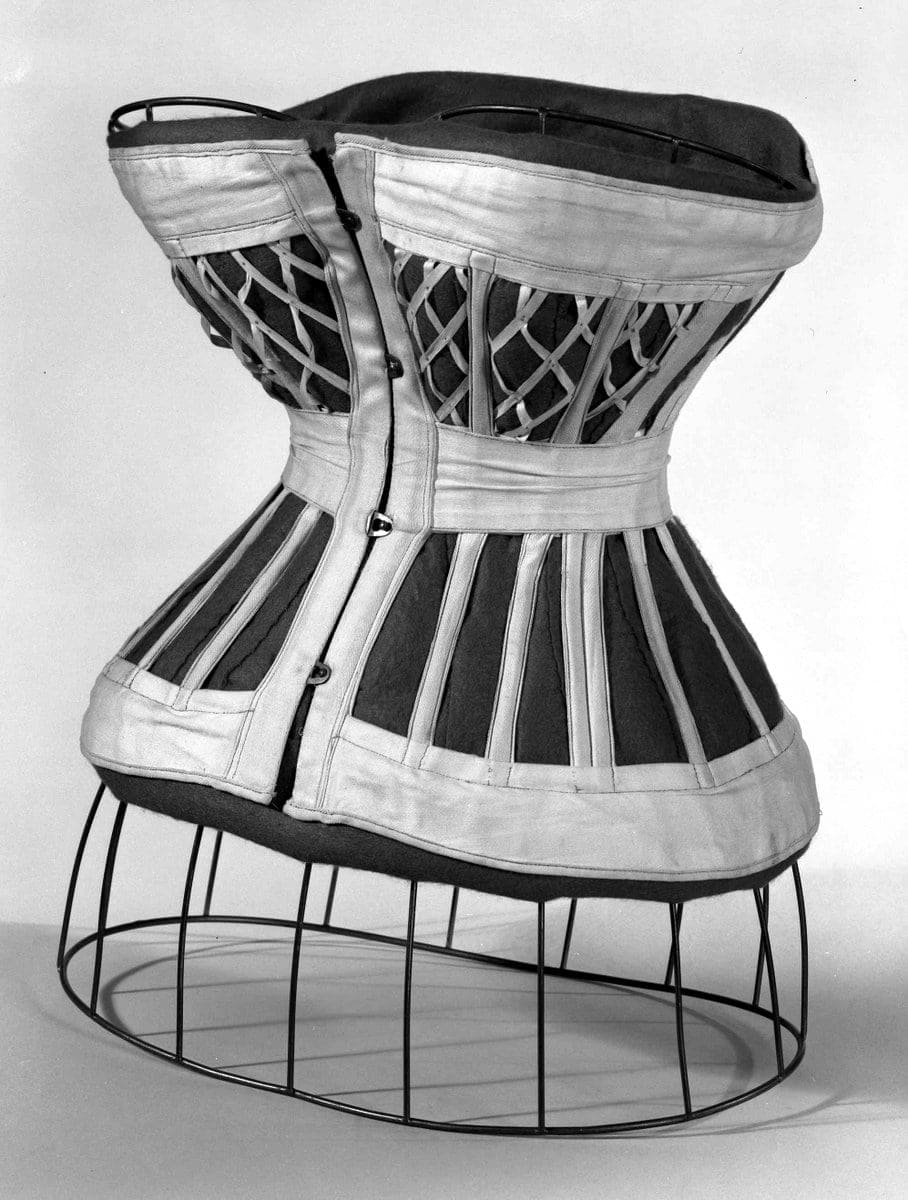 A corset of 1876 (From MOMA)