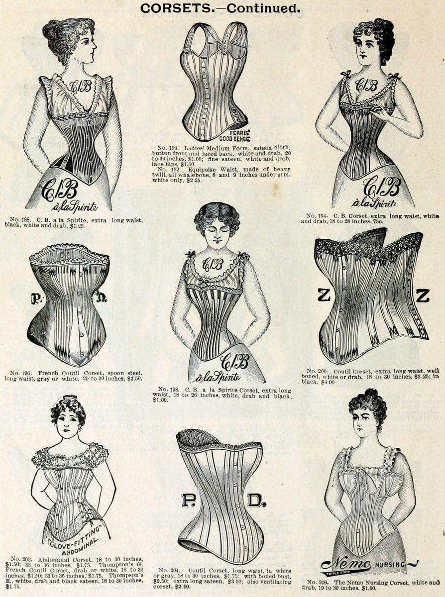 Corsets Spring & summer 1898 H O'Neill & Co NY (1)