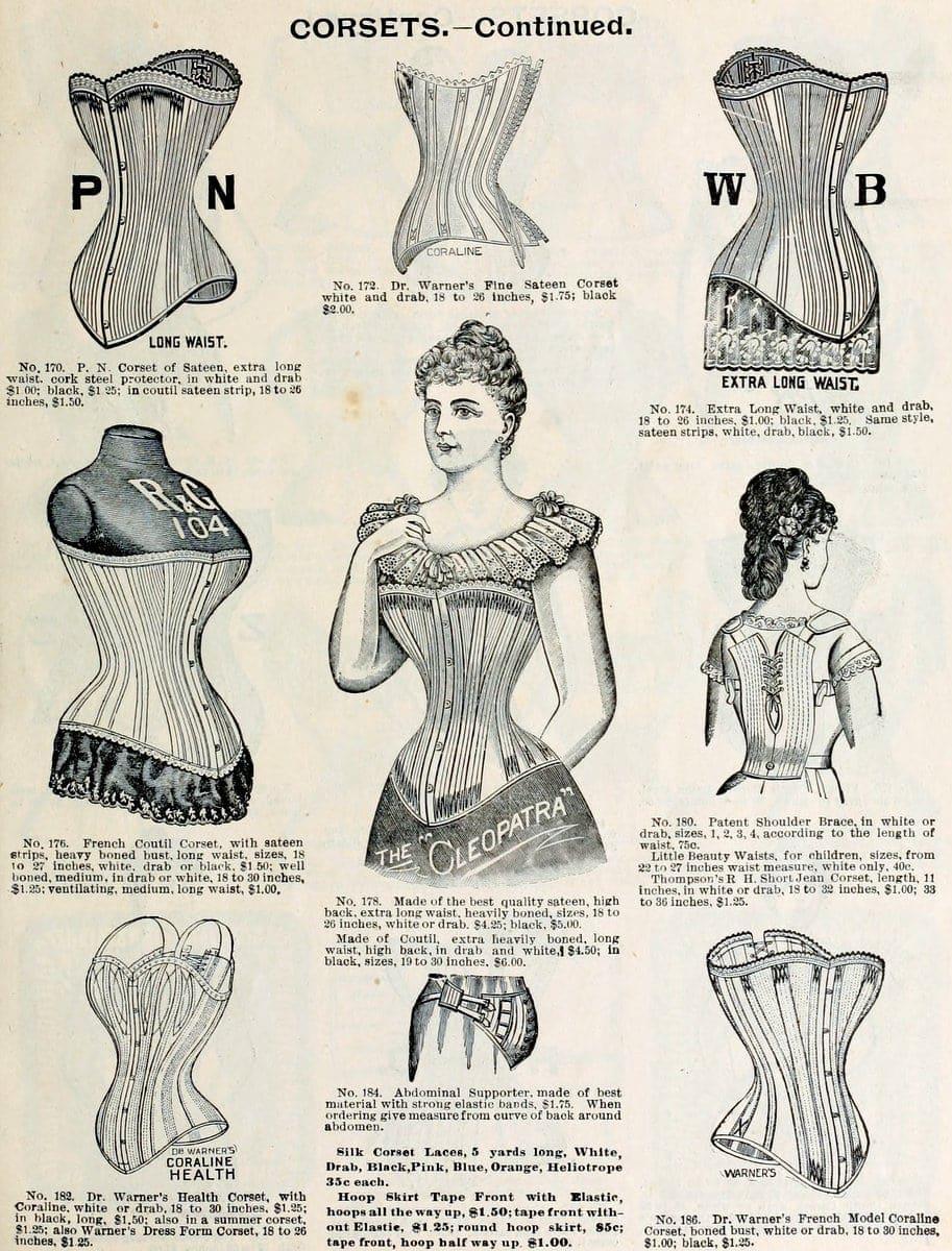 Corsets Spring & summer 1898 H O'Neill & Co NY (3)