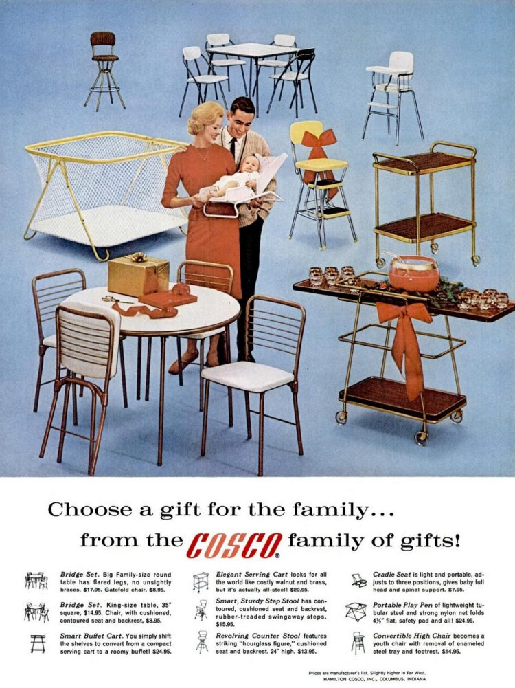 Cosco baby and home 1962