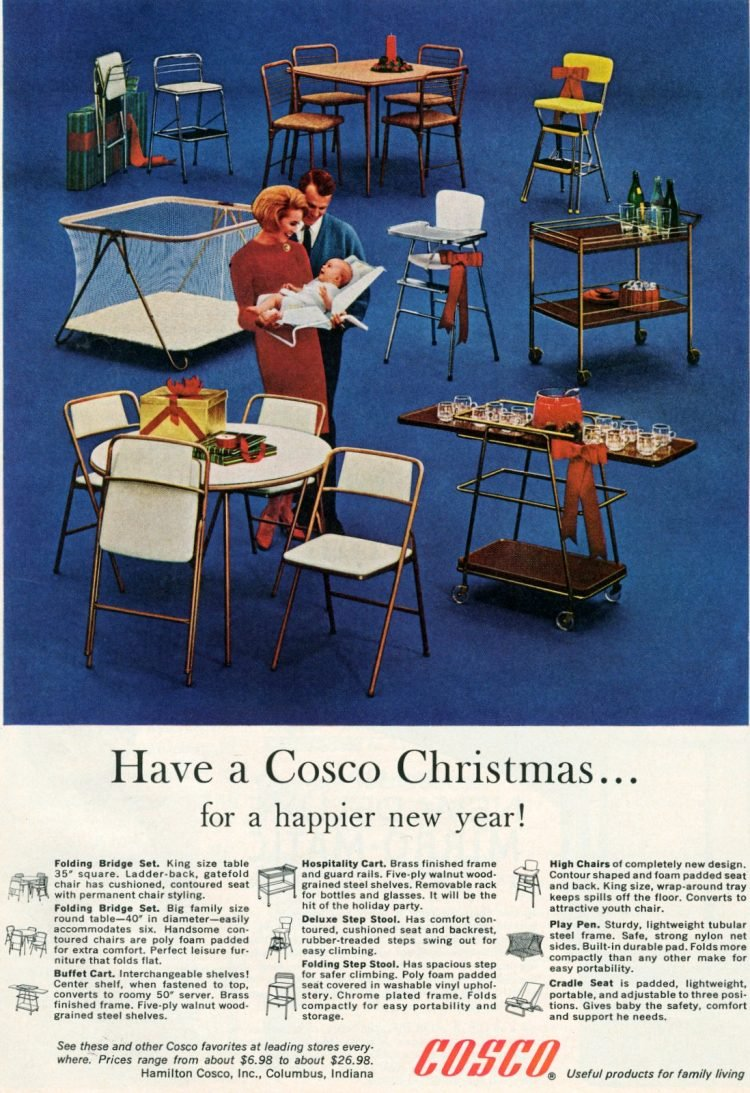 Costo home and baby gear from 1964