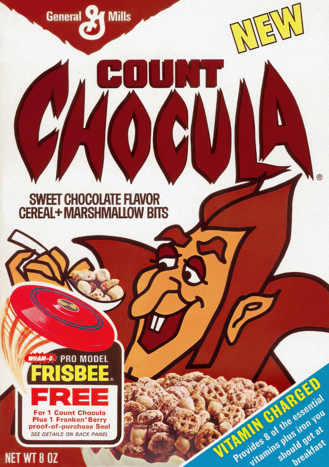 Count Chocula cereal - 1970s