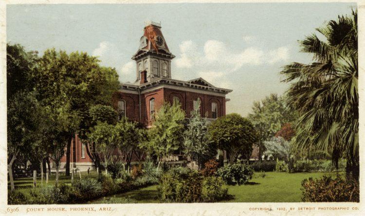 Court House, Phoenix, Ariz - vintage postcard