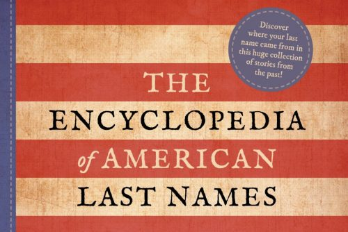 Cover - The Encyclopedia of American Last Names