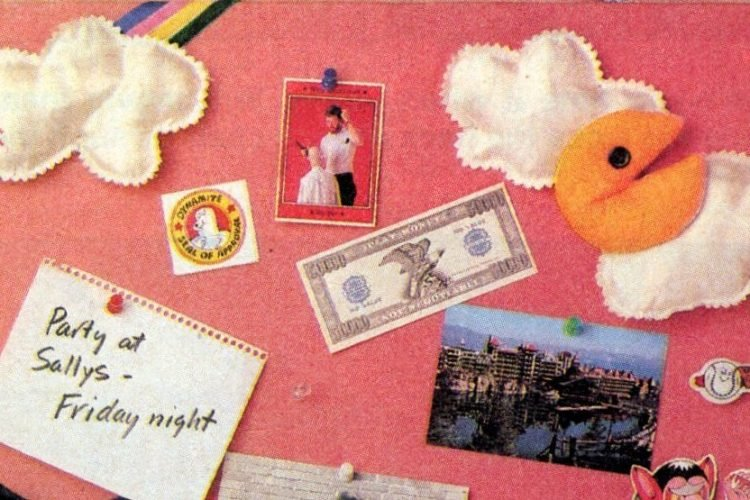 Craft how-to Make a bulletin board for your bedroom 1983-001