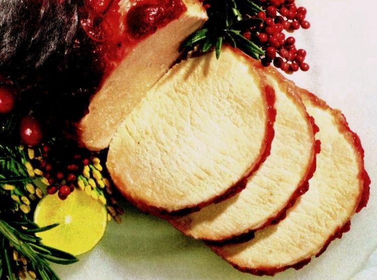 Cranberry-glazed pork roast (1993)