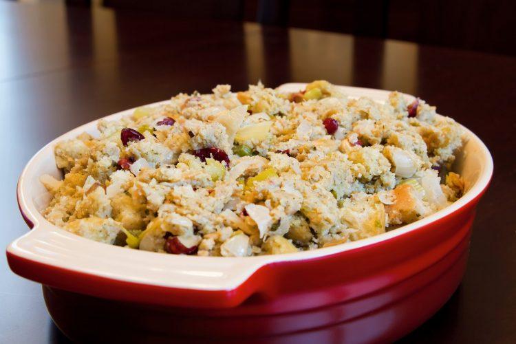 Thanksgiving Day Turkey Dinner Stuffing