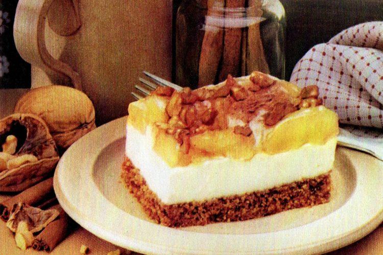 Creamy Dutch Apple dessert retro recipe (3)