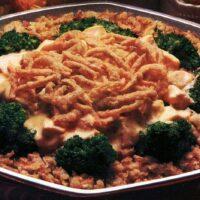 Creamy chicken n broccoli casserole recipe (1985)
