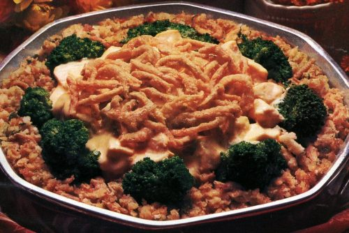 Creamy chicken n broccoli casserole recipe (1985)
