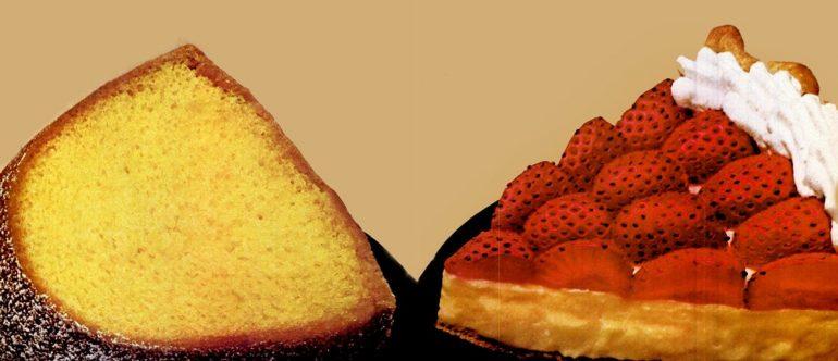 Creamy strawberry pie and Lemonade cake recipes (1979)