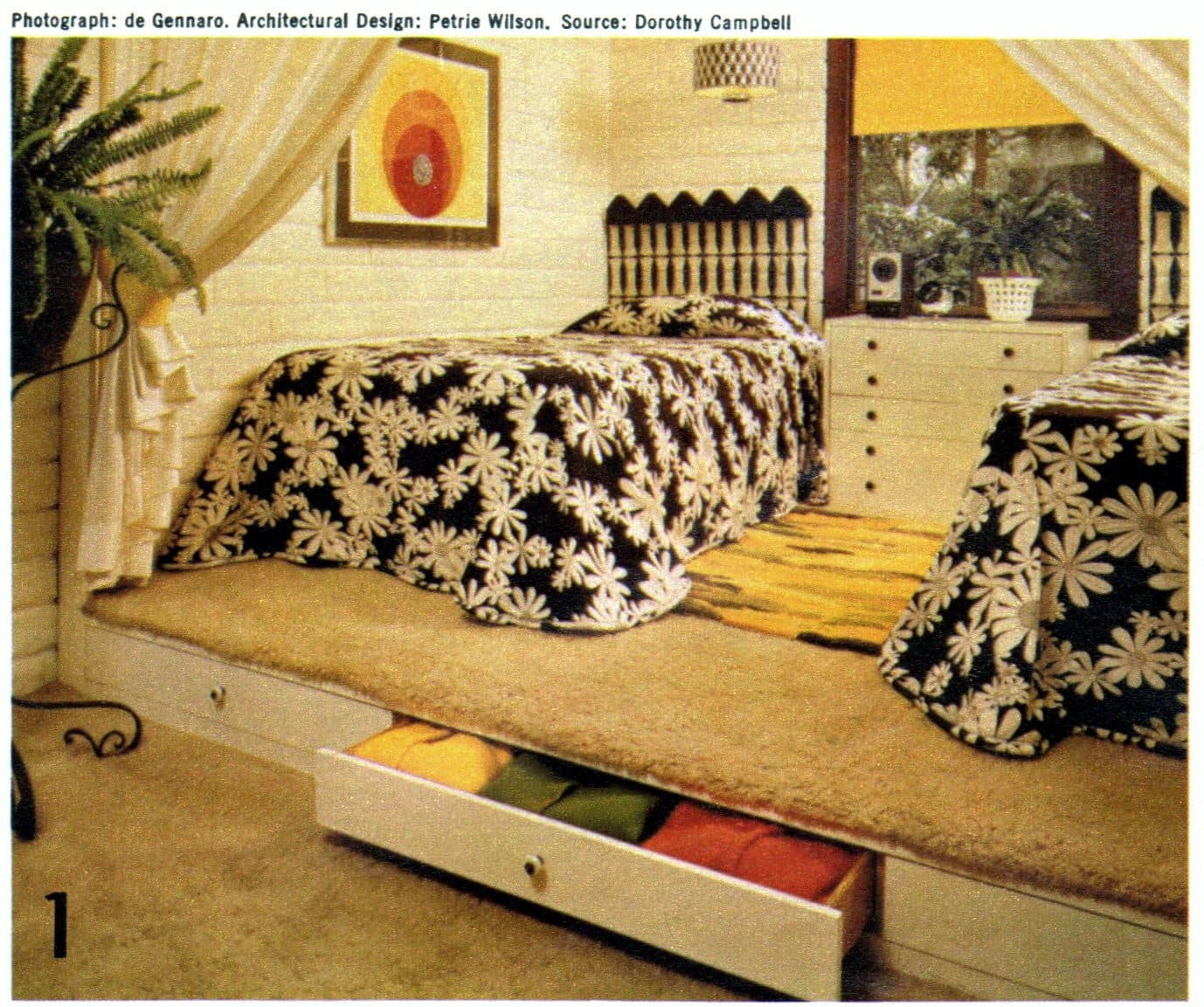 Creative bedroom decor ideas for kids from 1972 (1)