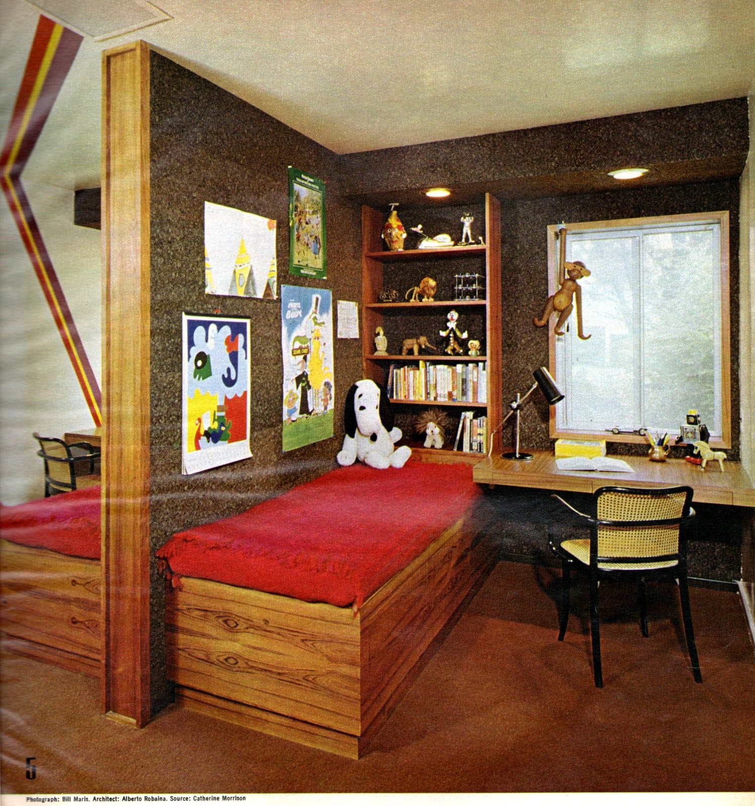 Creative bedroom decor ideas for kids from 1972 (2)