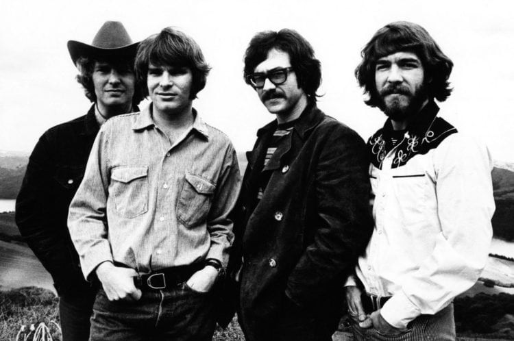 Creedence Clearwater Revival - Fantasy Records press photo
