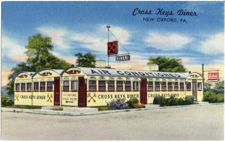 Cross Keys Diner, New Oxford, PA.