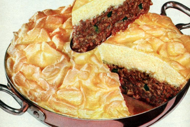 Crown o'gold meat loaf vintage recipe (1959)